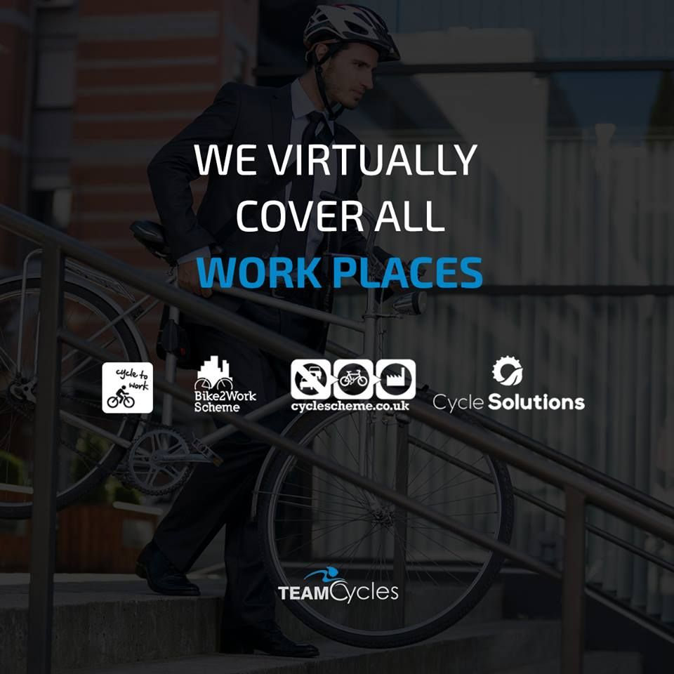We Virtually Cover All Workplaces With Our Cycle Scheme Bike2work