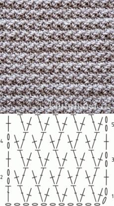 узоры крючком вяжем схемы узоры вязание крючком вязание и