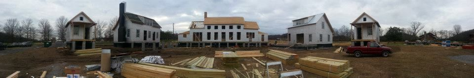 Castle Homes Is Hard At Work On The 2013 Southern Living Idea House