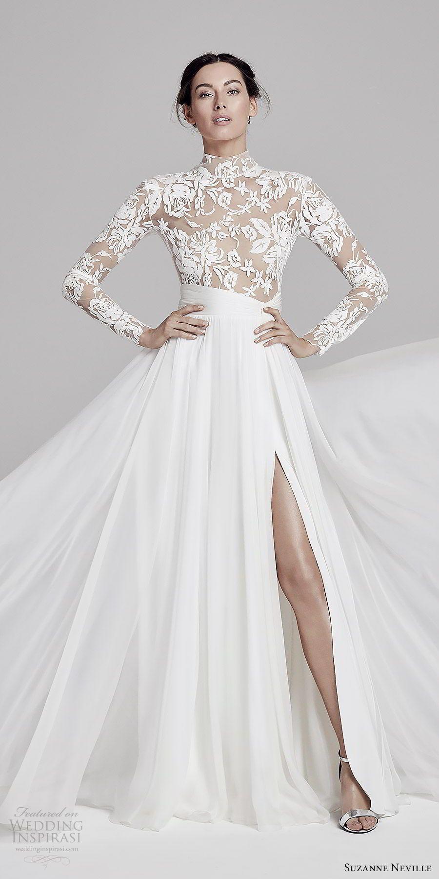 Suzanne Neville 2019 Wedding Dresses in 2020 Celebrity