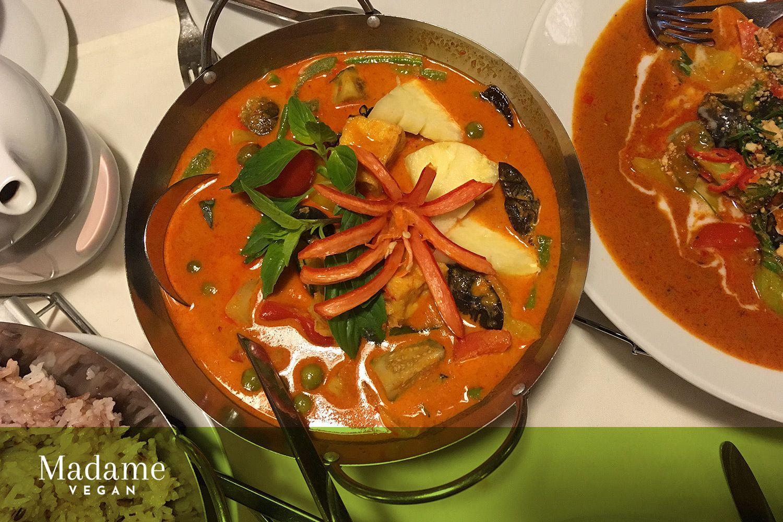 sarocha exotic thai cuisine n rnberg madame vegan vegan n rnberg restaurants pinterest. Black Bedroom Furniture Sets. Home Design Ideas