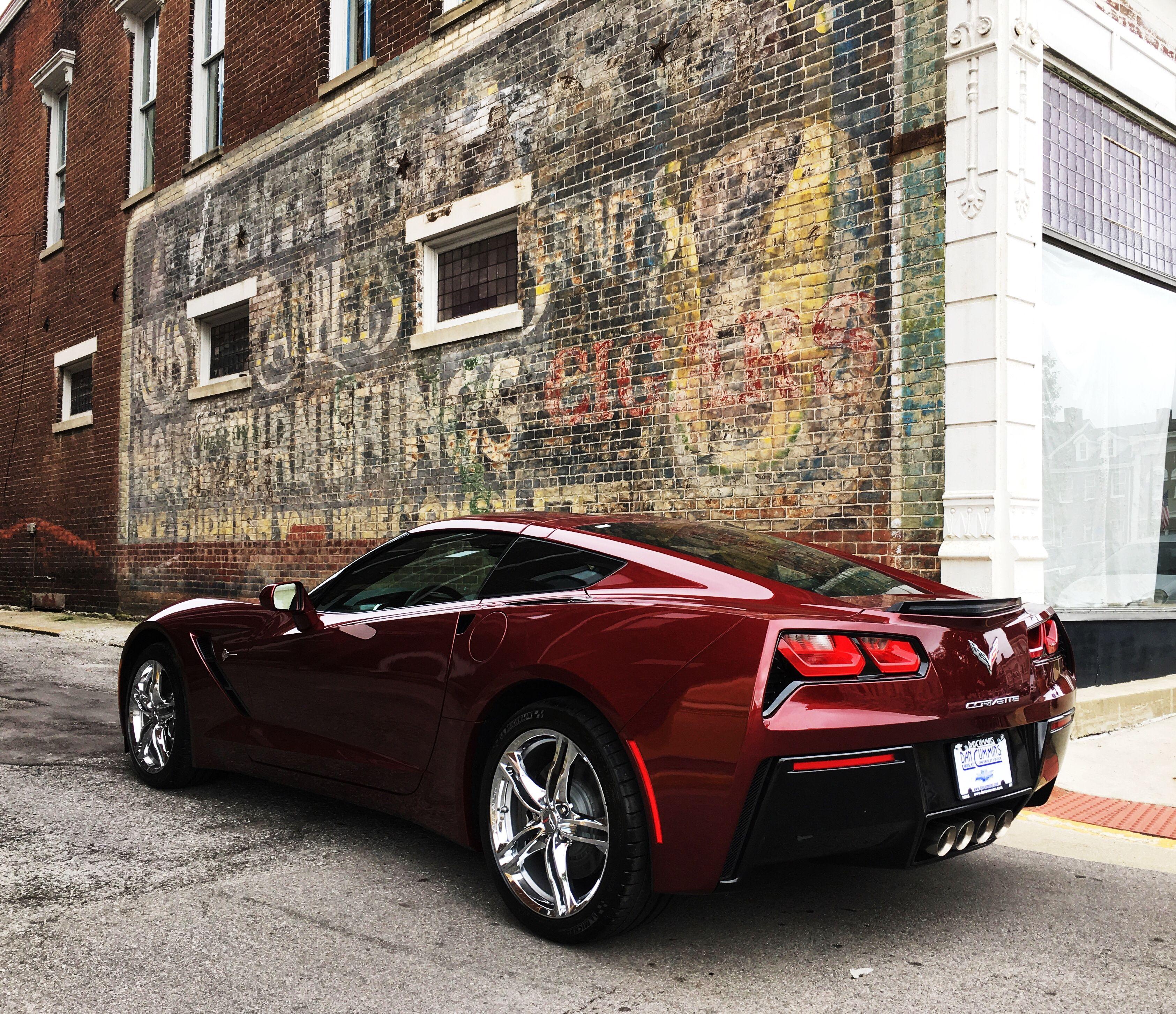 2017 Corvette Stingray In Long Beach Red Metallic Tintcoat