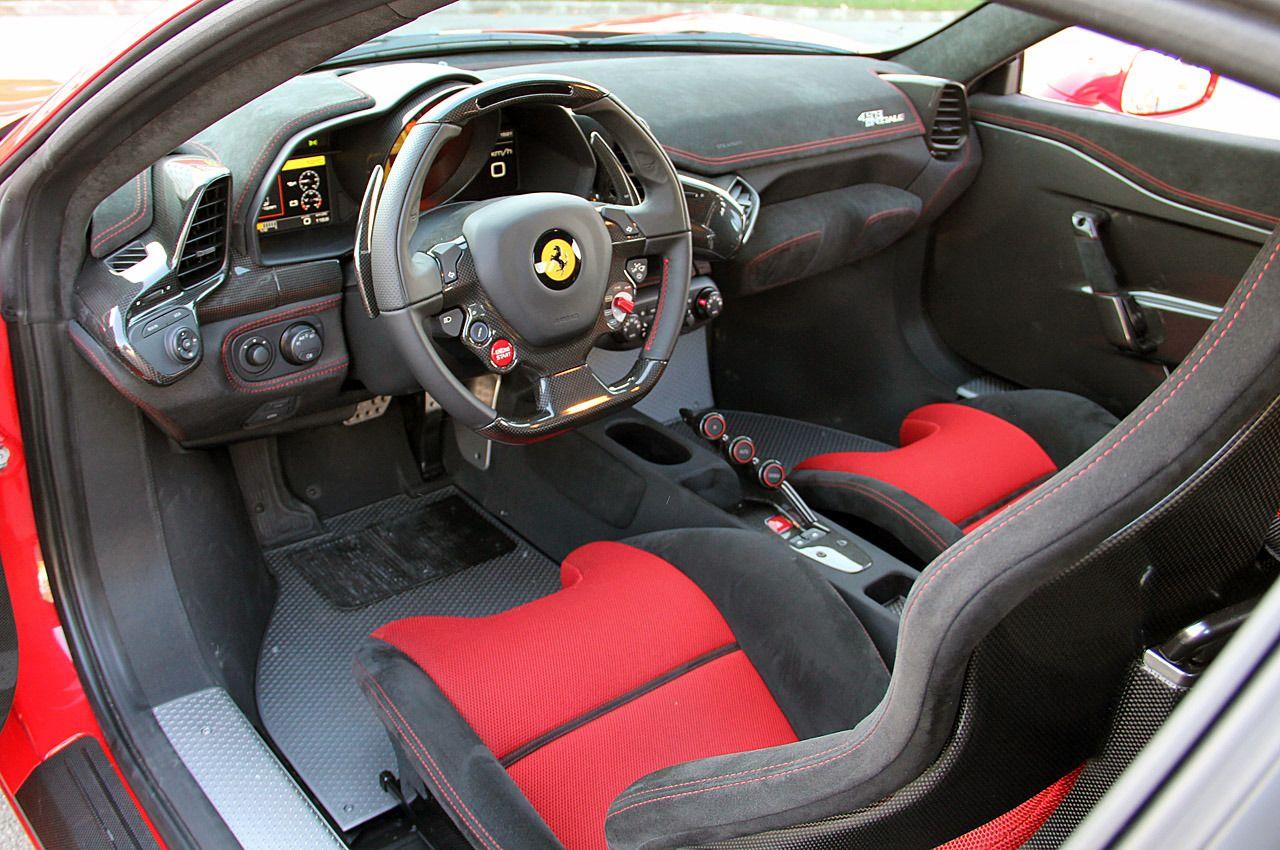 2016 Ferrari 458 Italia Interior Awesome Wallpaper Ferrari 458