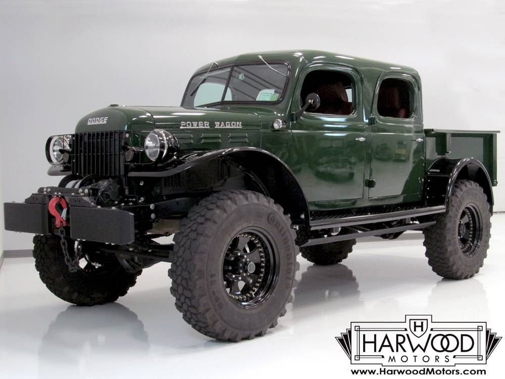 1947 Dodge Power Wagon Crew Cab Pickup | truck stuff | Pinterest ...