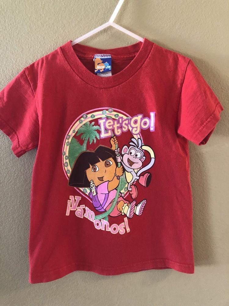 New w//tag Dora Long Sleeve Christmas t-shirt Girl/'s size 3T