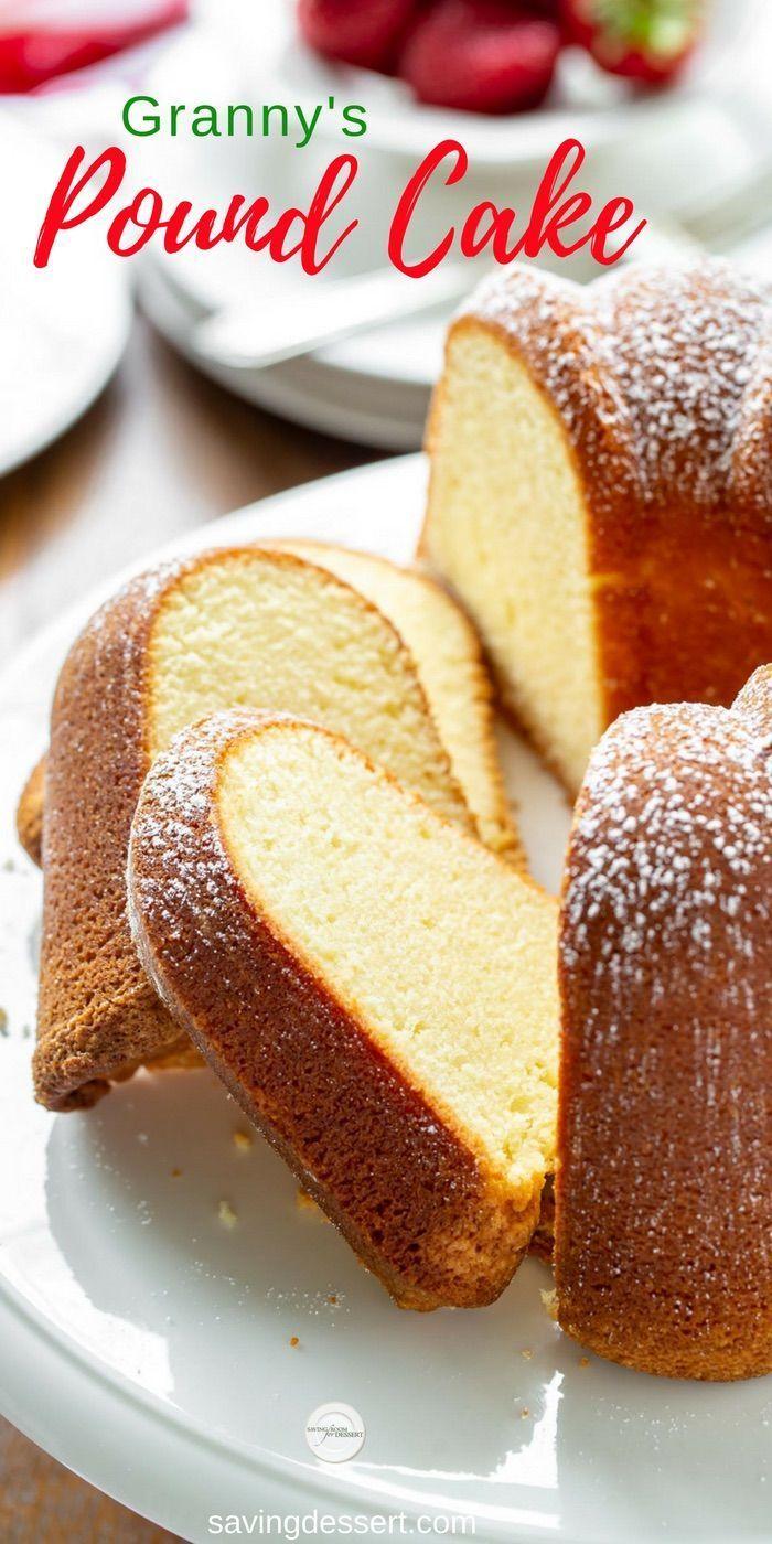 Granny's Pound Cake,  Granny's Pound Cake,