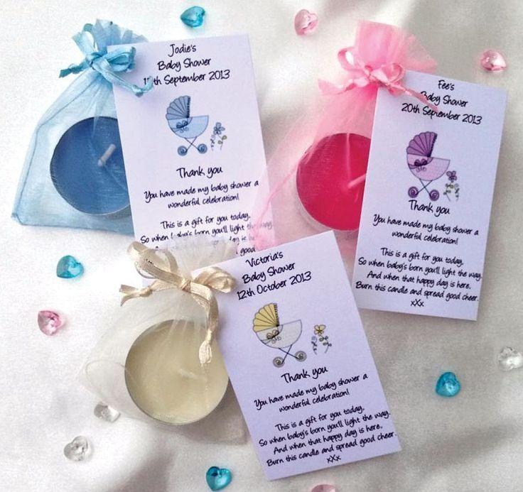 Baby Shower Candle Favor Poem Favors Pinterest Baby Shower