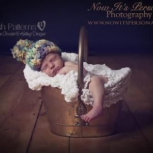 Crochet Hat Pattern Easy Beginner Handspun Beanie Crochet Pattern PDF 225 Newborn To Adult Sizes on Luulla