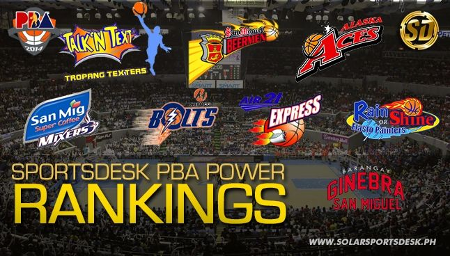 Pba Rankings The Playoff Bound Teams Basketball Sports