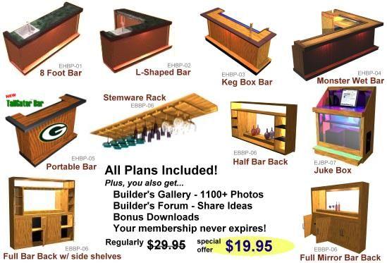 Home Bar Plans The Most Popular Home Bar Plans Design