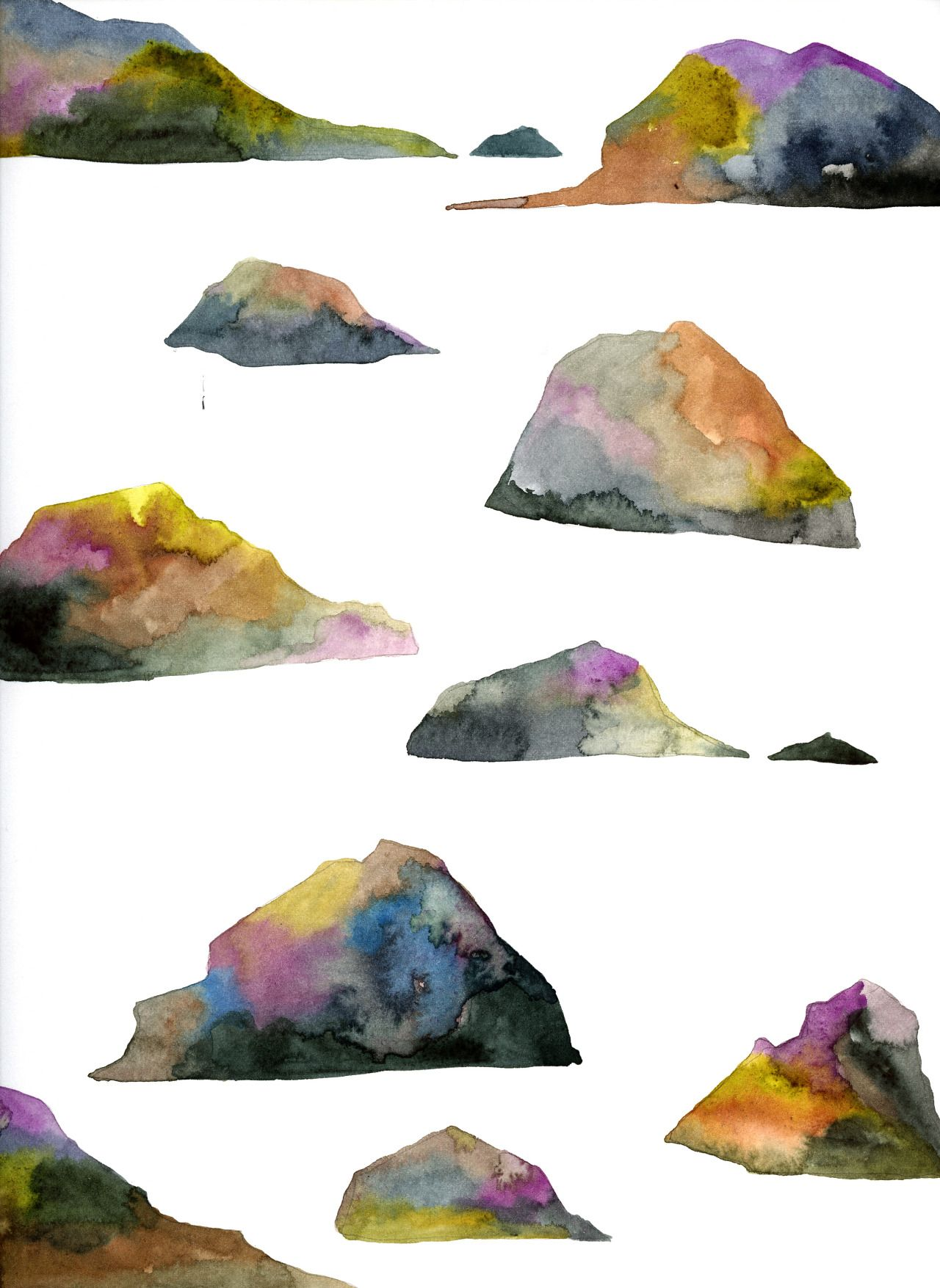 New Limited Edition Archival Beach Rocks Print Up In The Webshop
