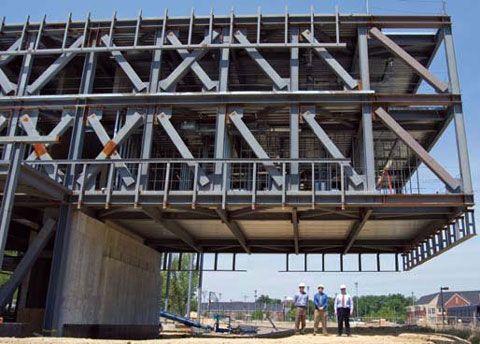 North Carolina A T University S Samuel D Proctor School Of Education Building Structural Engineering Steel Structure Buildings Steel Architecture