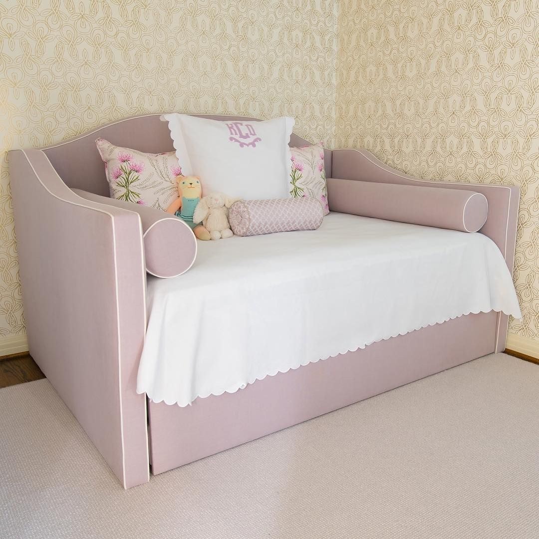 Acme Athena White Girls Twin Trundle Bed Twin trundle