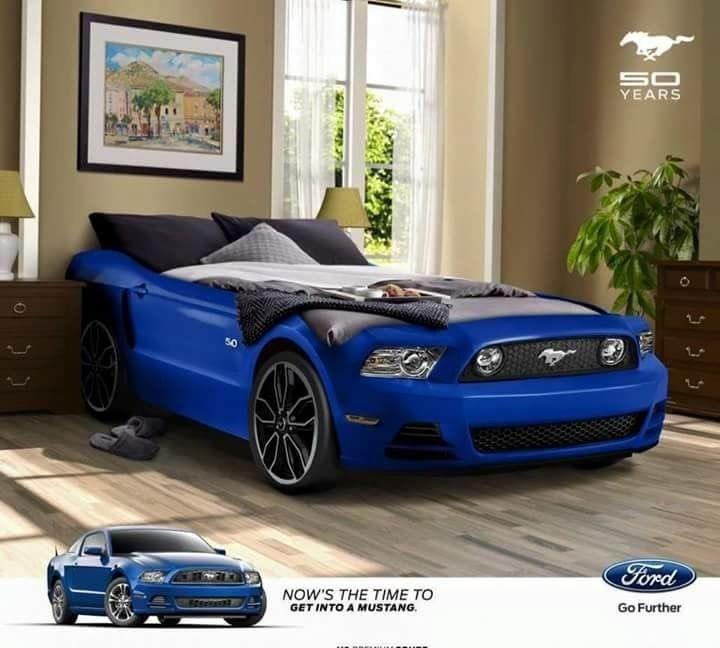 Mustang bed | Ford Mustang | Mustang, Race car bedroom ...