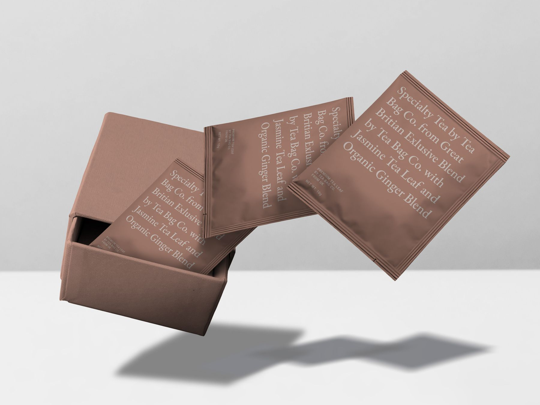 Download Chai Tea Bag Sealed Bag Mockup Bag Mockup Tea Bag Chai Tea