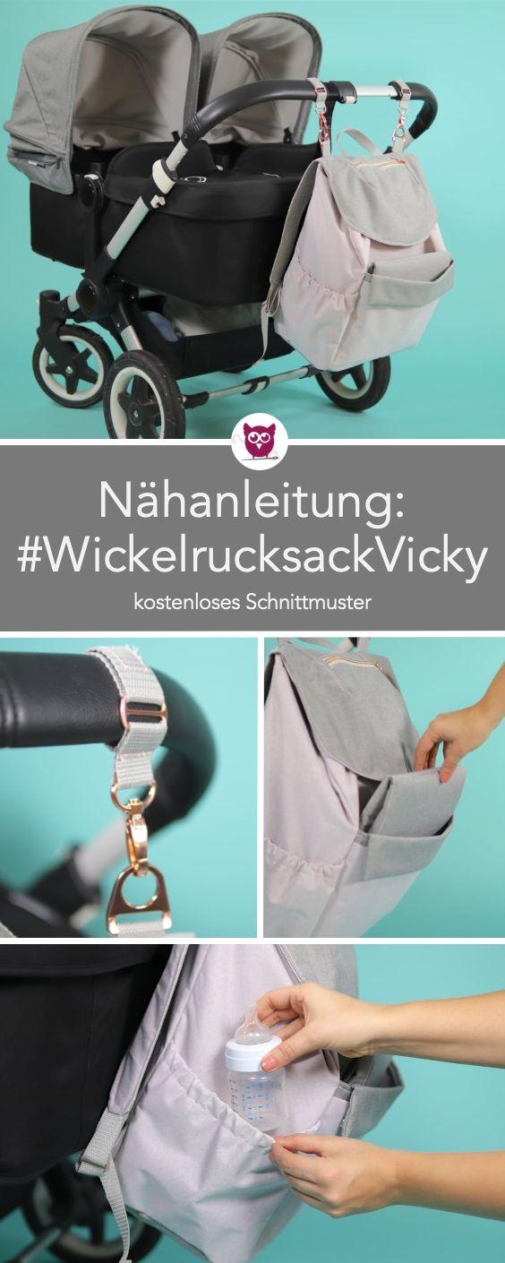 Photo of [Werbung] 2-in-1 Wickelrucksack Vicky Nähanleitung mit kostenlosem Schnittmuste…