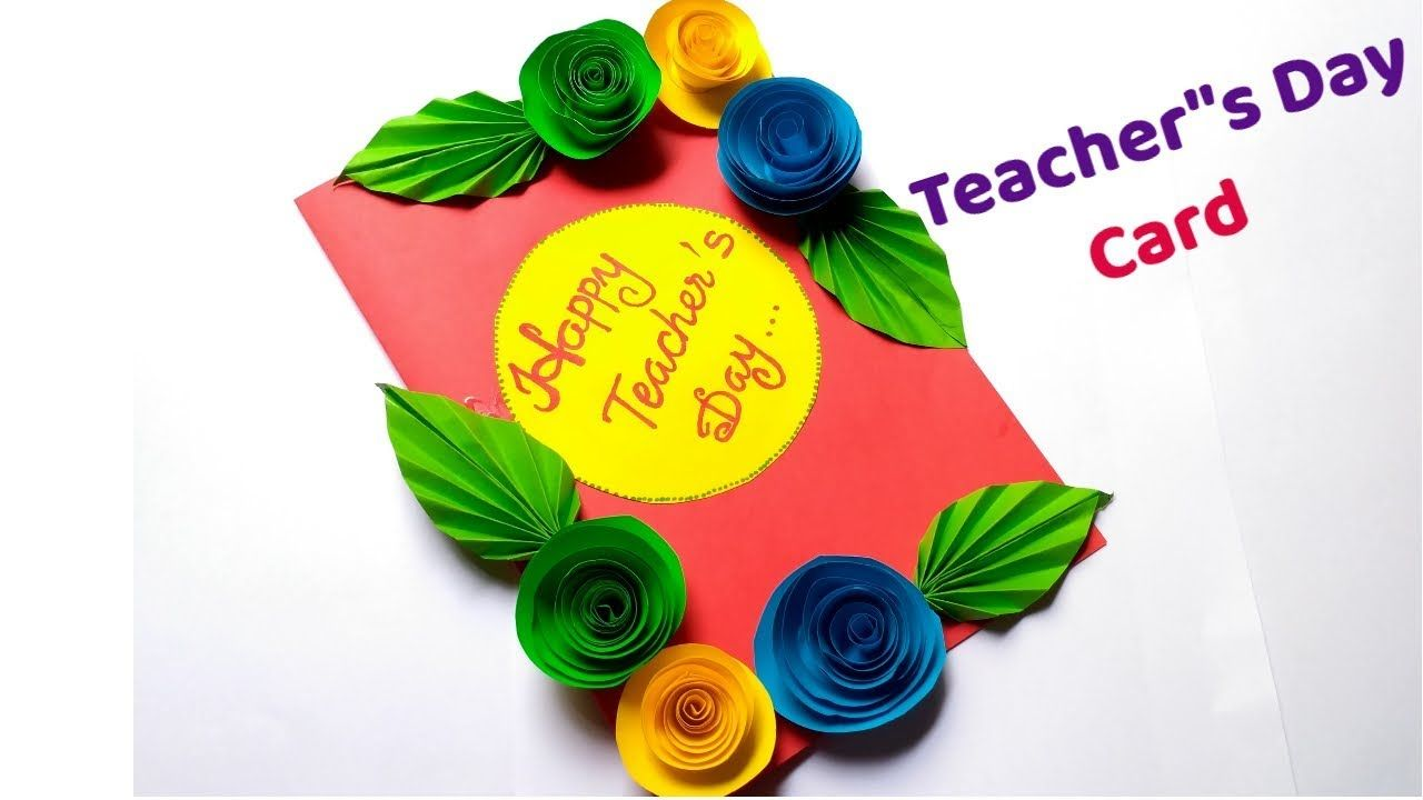 image result for teachers day card  teachers day card
