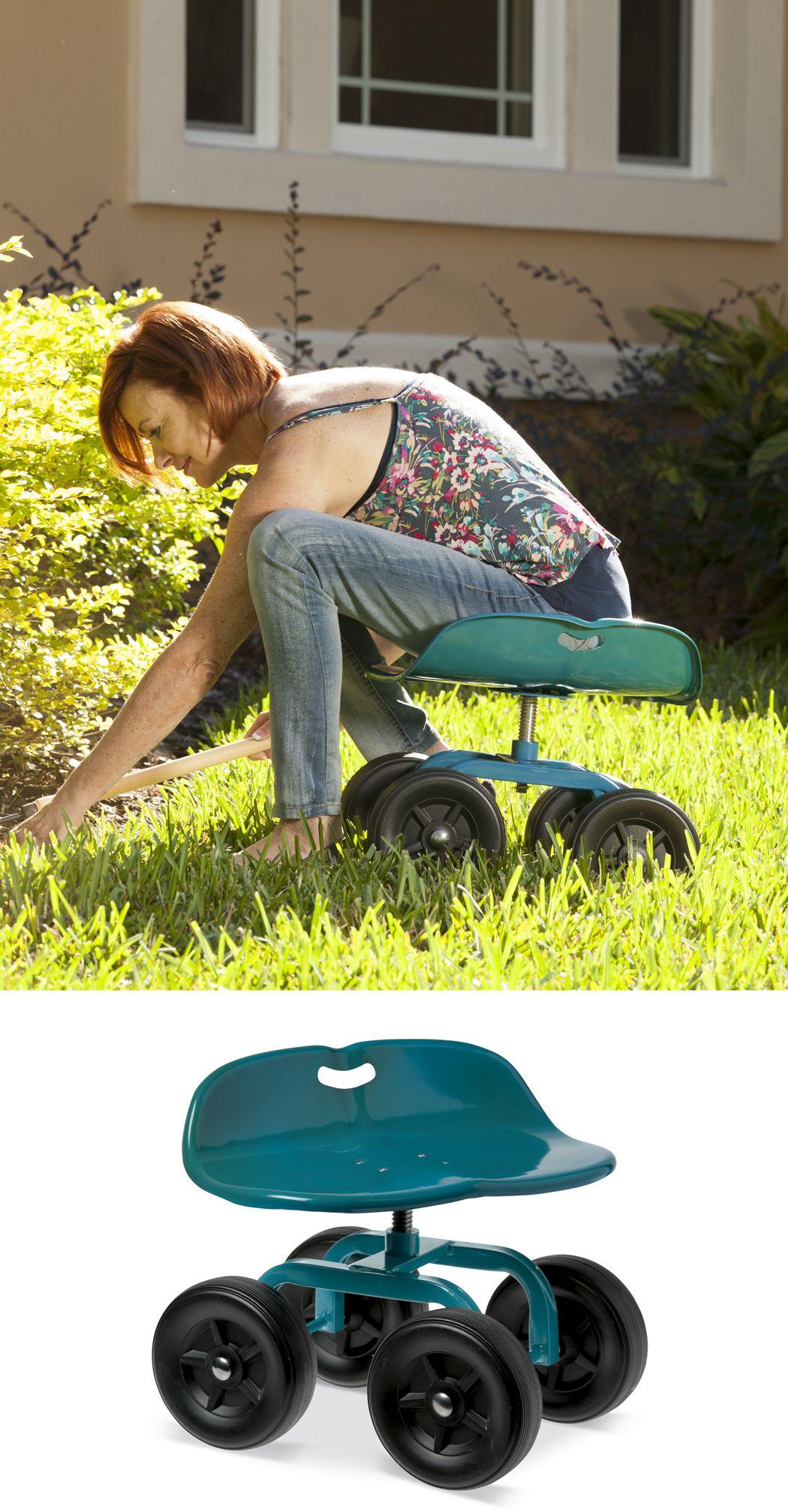 Gardening Seat Gardening Chair Low Rider Swivel Scoot With