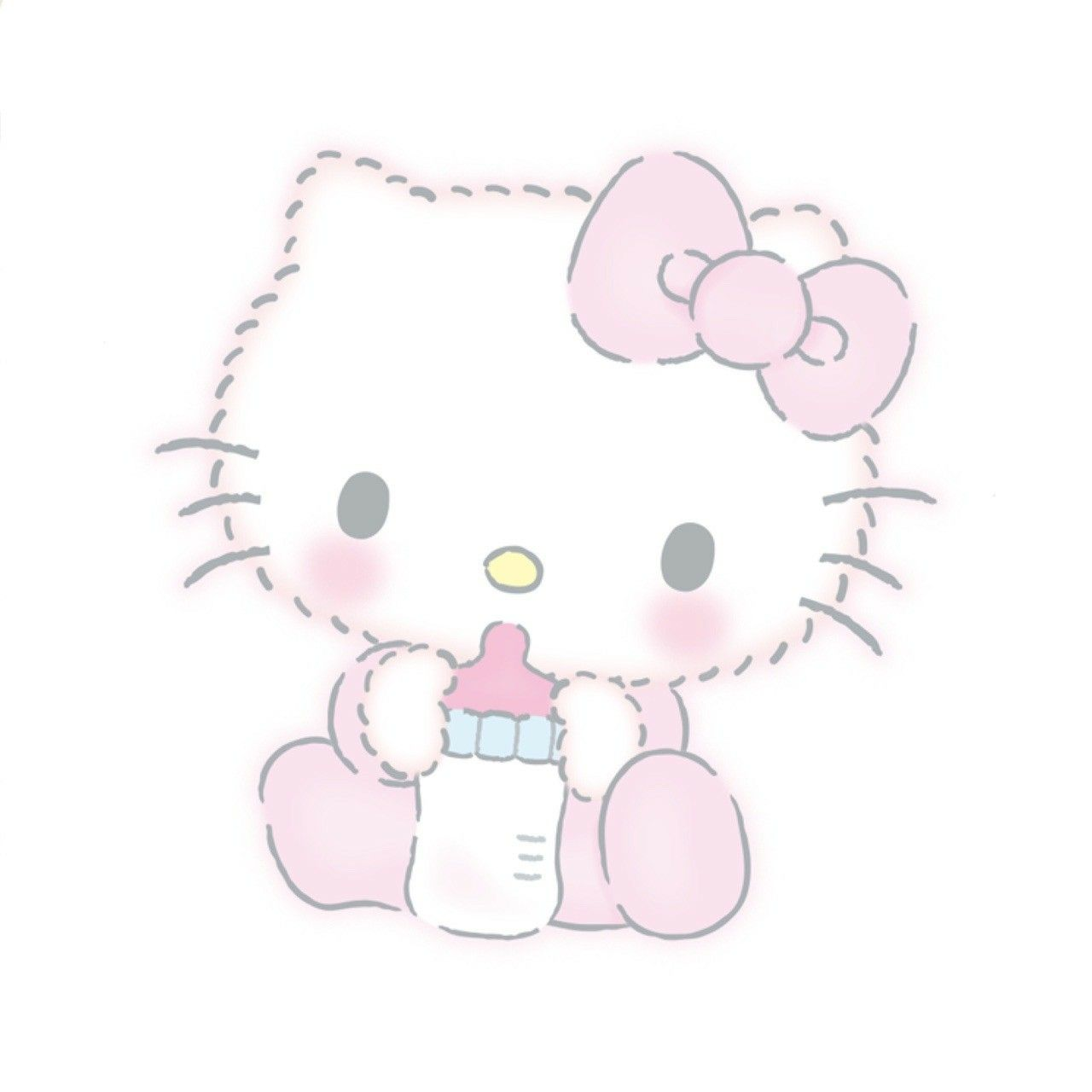Baby hello kitty kitty hello kitty beb hello kitty y - Decoration hello kitty chambre bebe ...