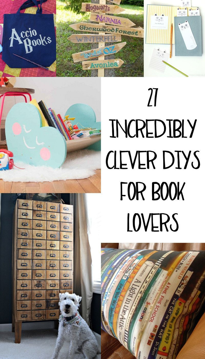 27 incredibly clever diys all true book lovers will