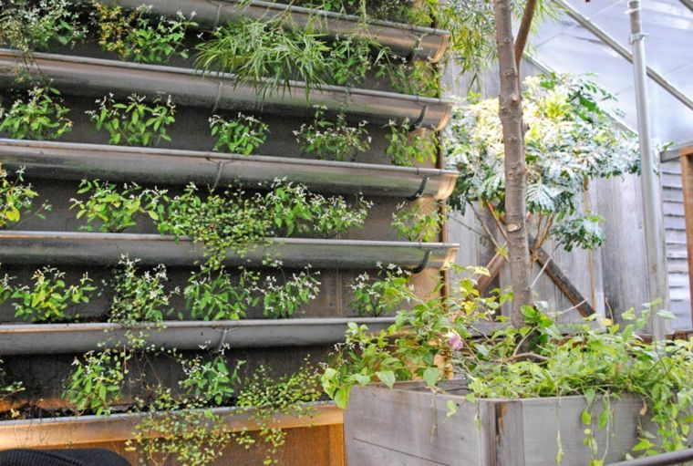 ideas de como hacer un jardin vertical Jardín vertical Pinterest