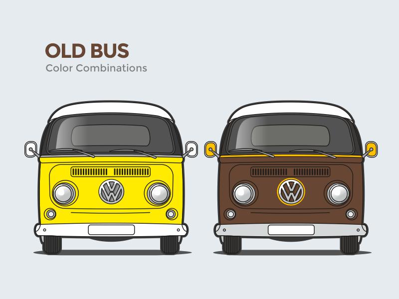 OLD BUS (volkswagen T2) imagens) Kombi, Carros