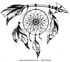 Dream Catcher Outline Image Result For Dreamcatcher Outline  Tattoo Ideas  Pinterest