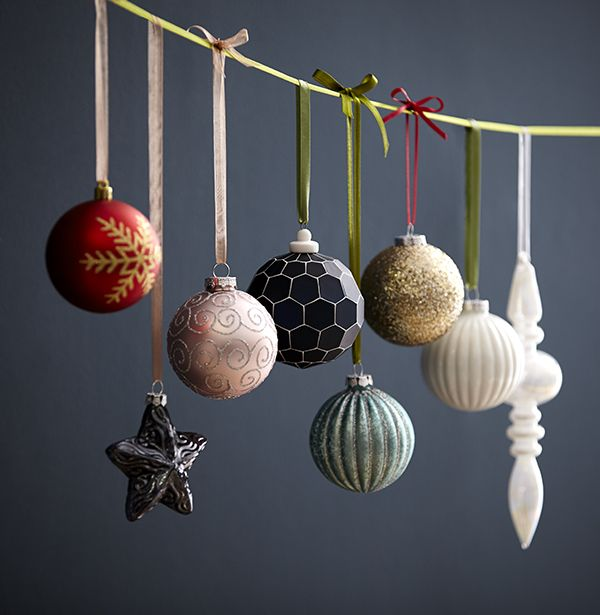 Christmas Tree Lights Homebase: Find Christmas Baubles To Suit Your Festive Style At