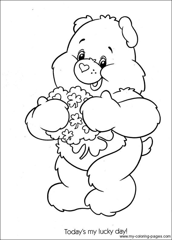 Care Bears Coloring 085