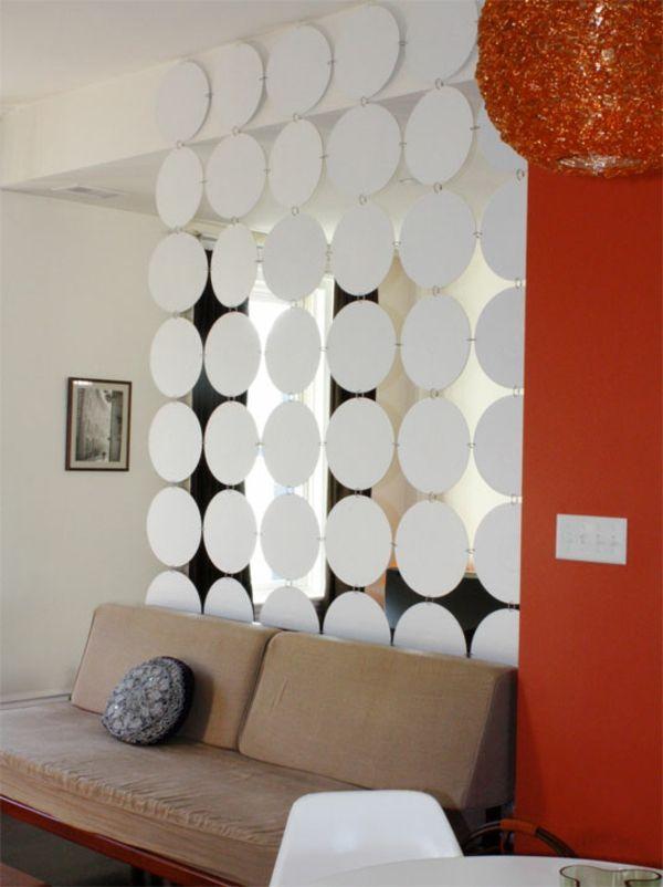 raumteilung-im-modernen-wohnzimmer- interessantes modell - 42 - raumteiler ideen wohnzimmer