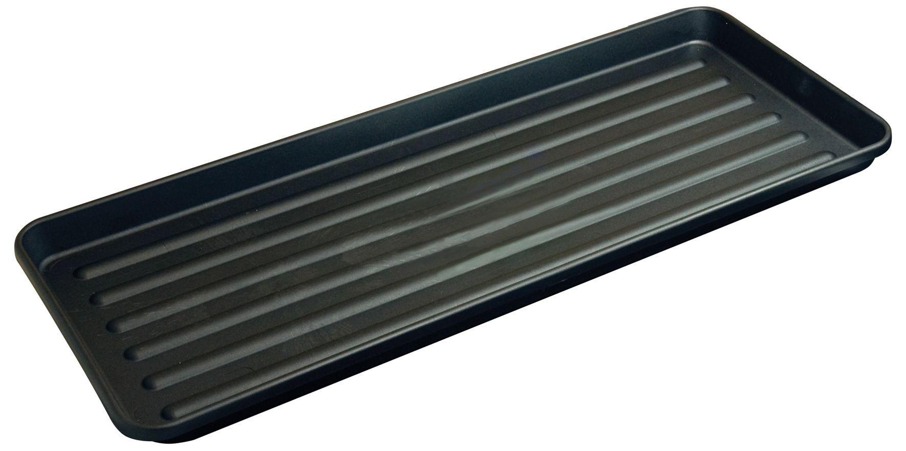 Verve Black Plastic Grow Bag Tray Departments Diy At B 400 x 300