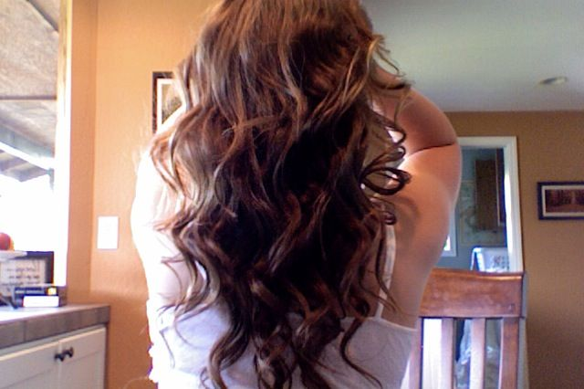 Waterfall hair? I believe so.