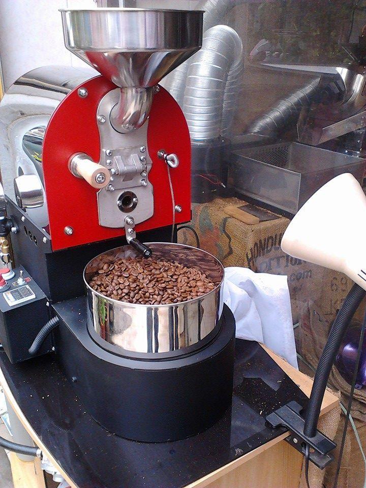pražírna kávy coffee roaster