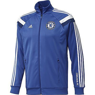 0070dc5e3 ADIDAS CHELSEA FC ANTHEM TRACK TOP Show your support for your favorite lads  from Stamford Bridge