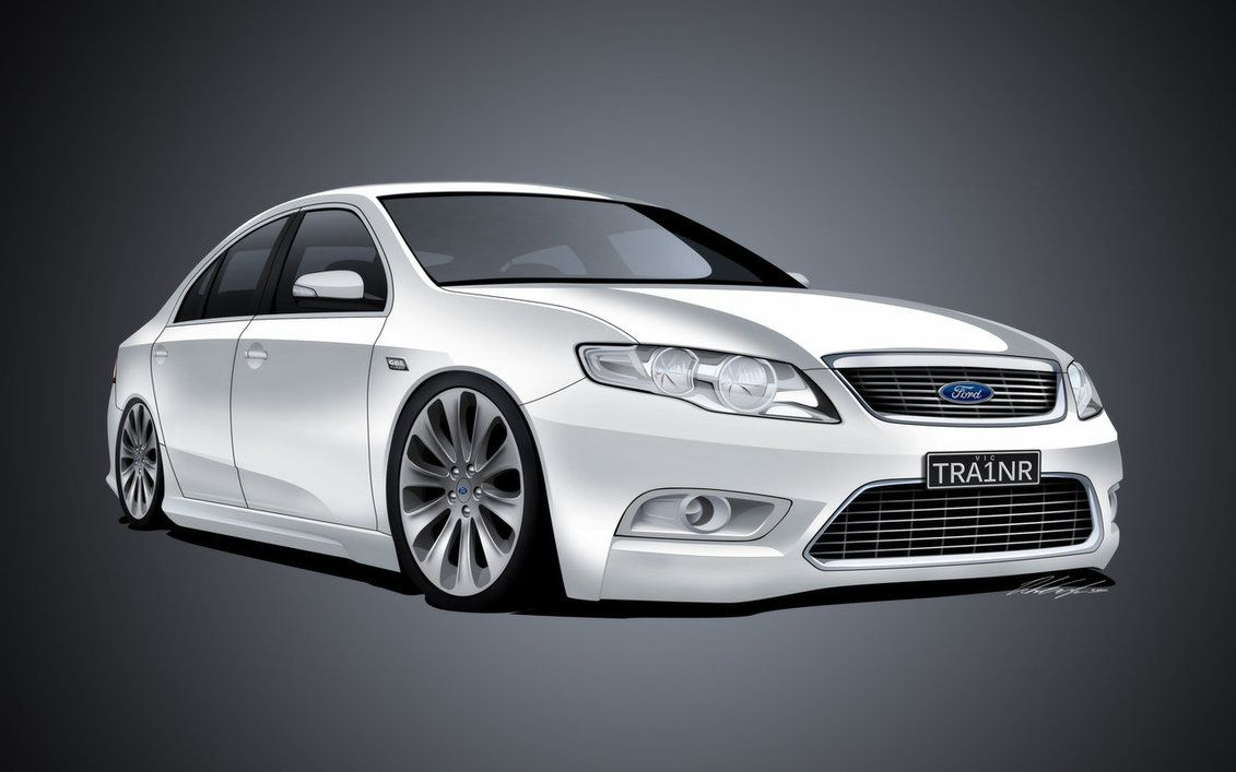 Ford G6e Turbo By Dazza Mate On Deviantart Aussie Muscle Cars