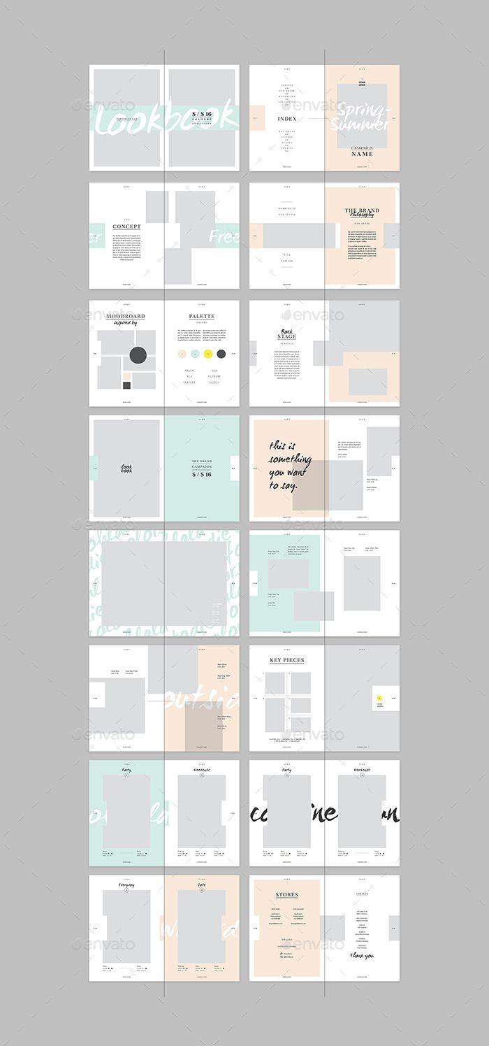 how to create a digital lookbook
