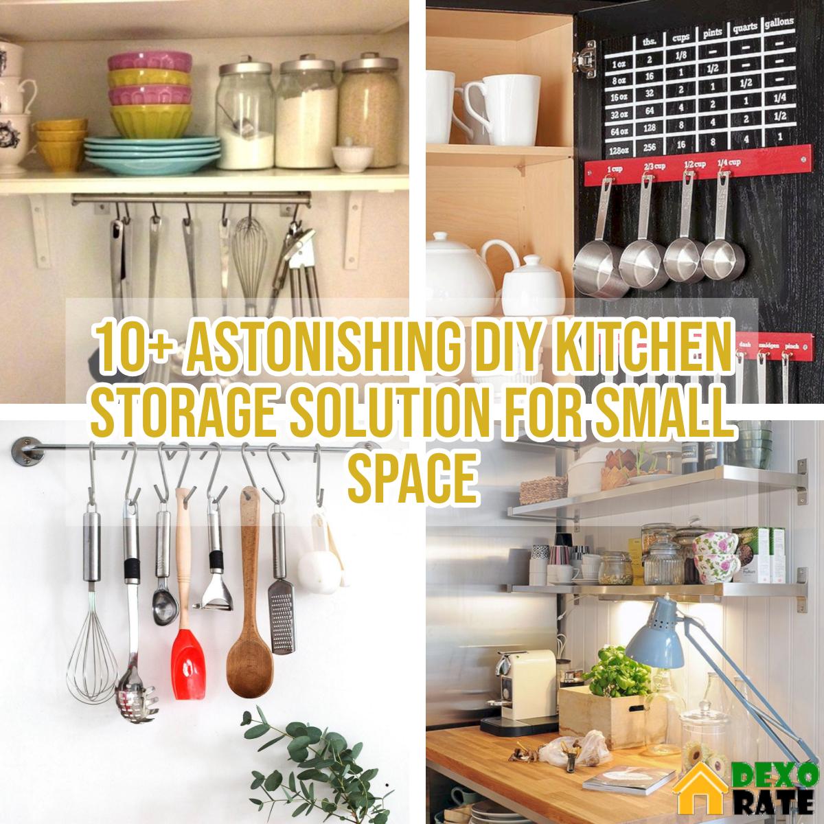 10 astonishing diy kitchen storage solution for small space diy kitchen diy kitchen storage on kitchen organization for small spaces id=43759