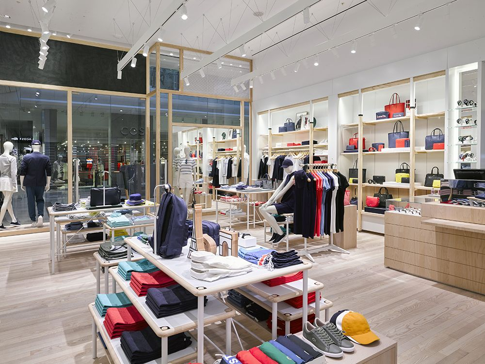 f28716a12 Lacoste has unveiled a new global store concept at Westfield White City  today and is marking the occasion with…