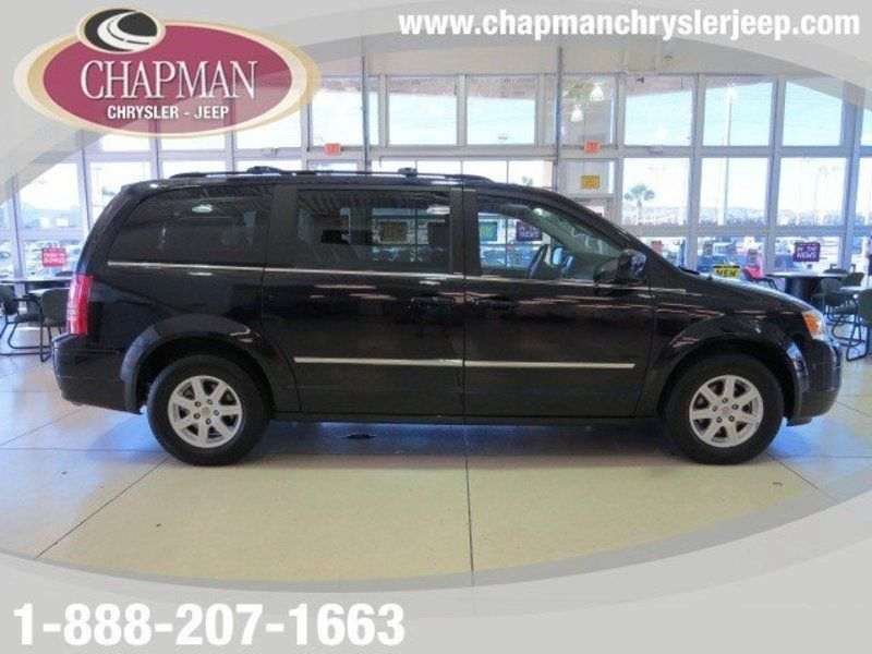 2010 Chrysler Town And Country Touring Used 2010 Chrysler Town
