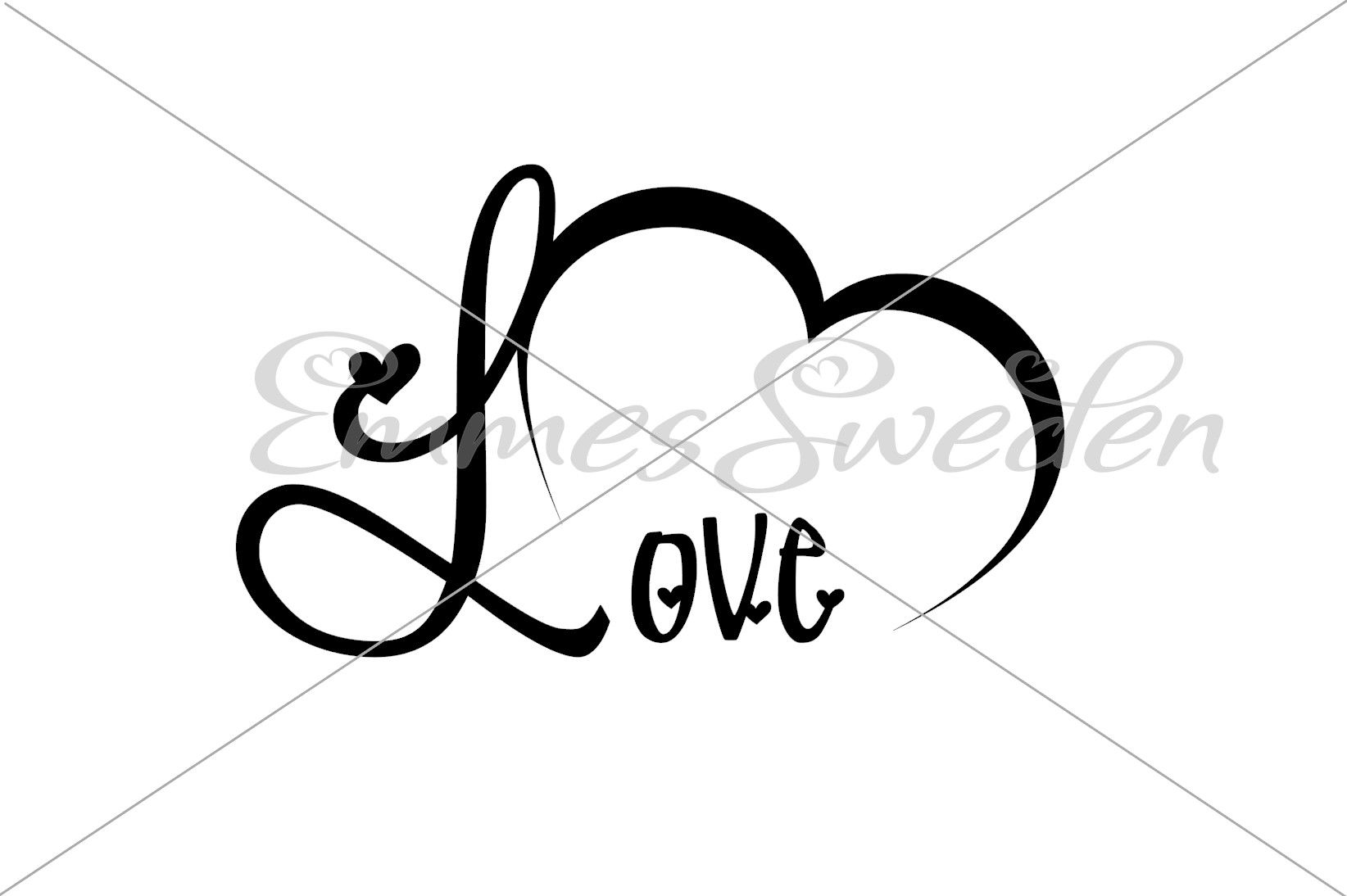 Download Free Love Heart Valentines Day Svg File Graphic By Emmessweden PSD Mockup Template
