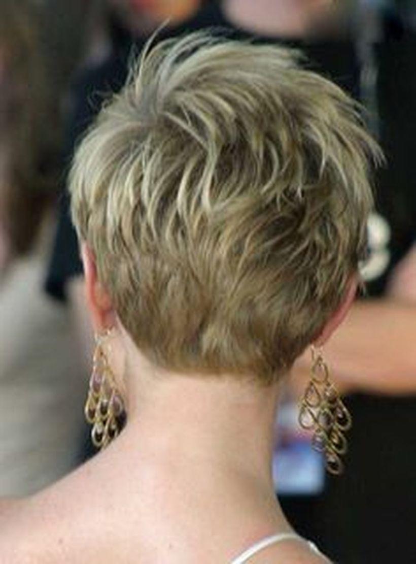 Cool back view undercut pixie haircut hairstyle ideas kapsels