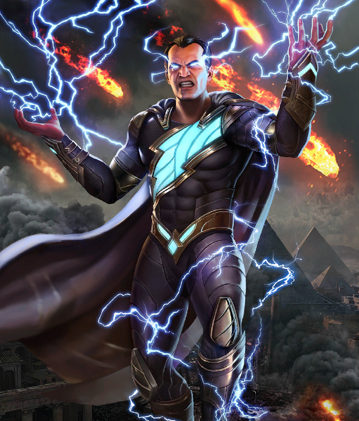 Injustice 2 Mobile Roster Marvel And Dc Characters Comic Villains Black Adam Comics