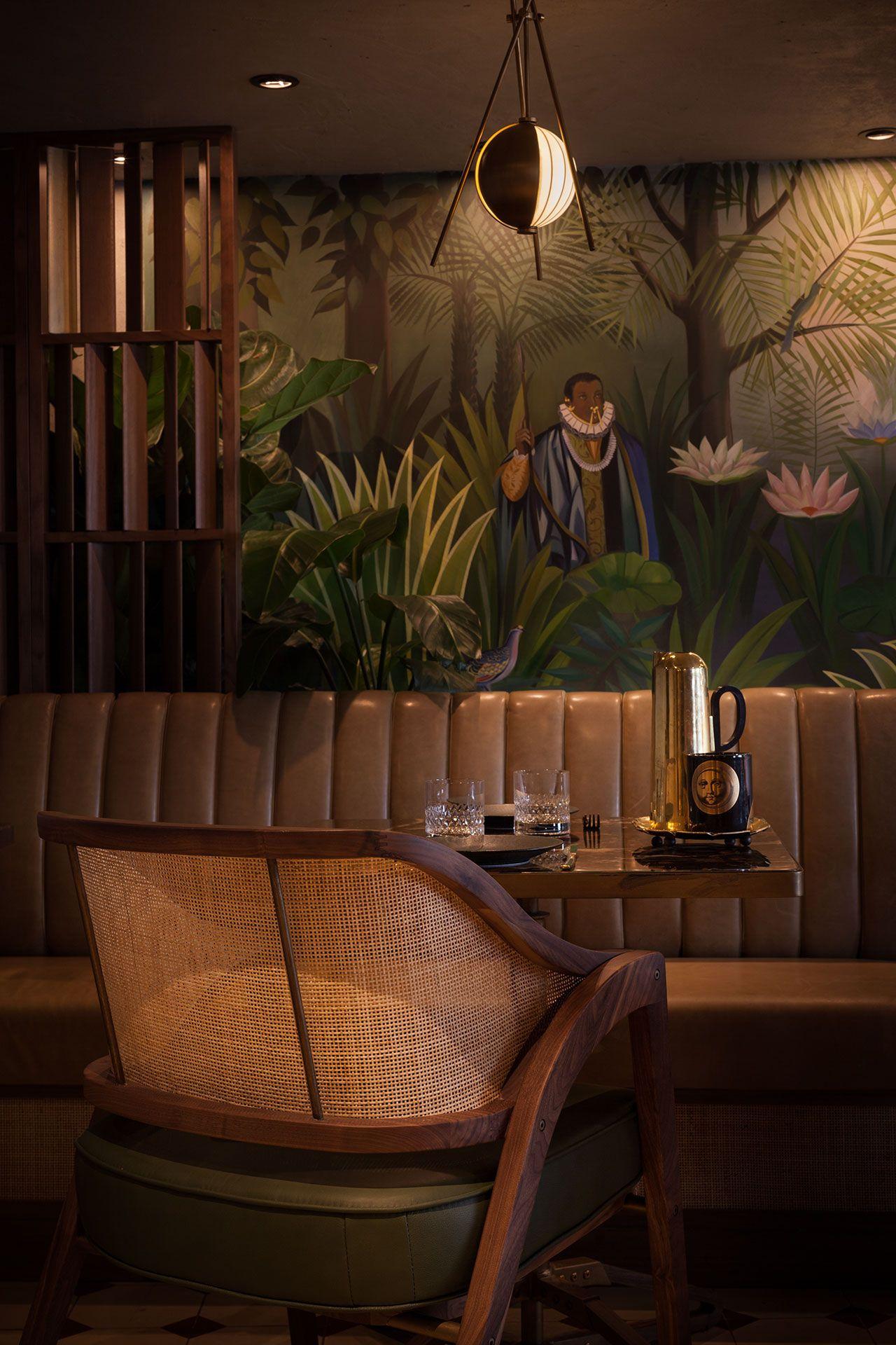 Jungle Expedition Paradis Restaurant In Hong Kong By Substance Bar DesignRestaurant InteriorsBar Design AwardsBar