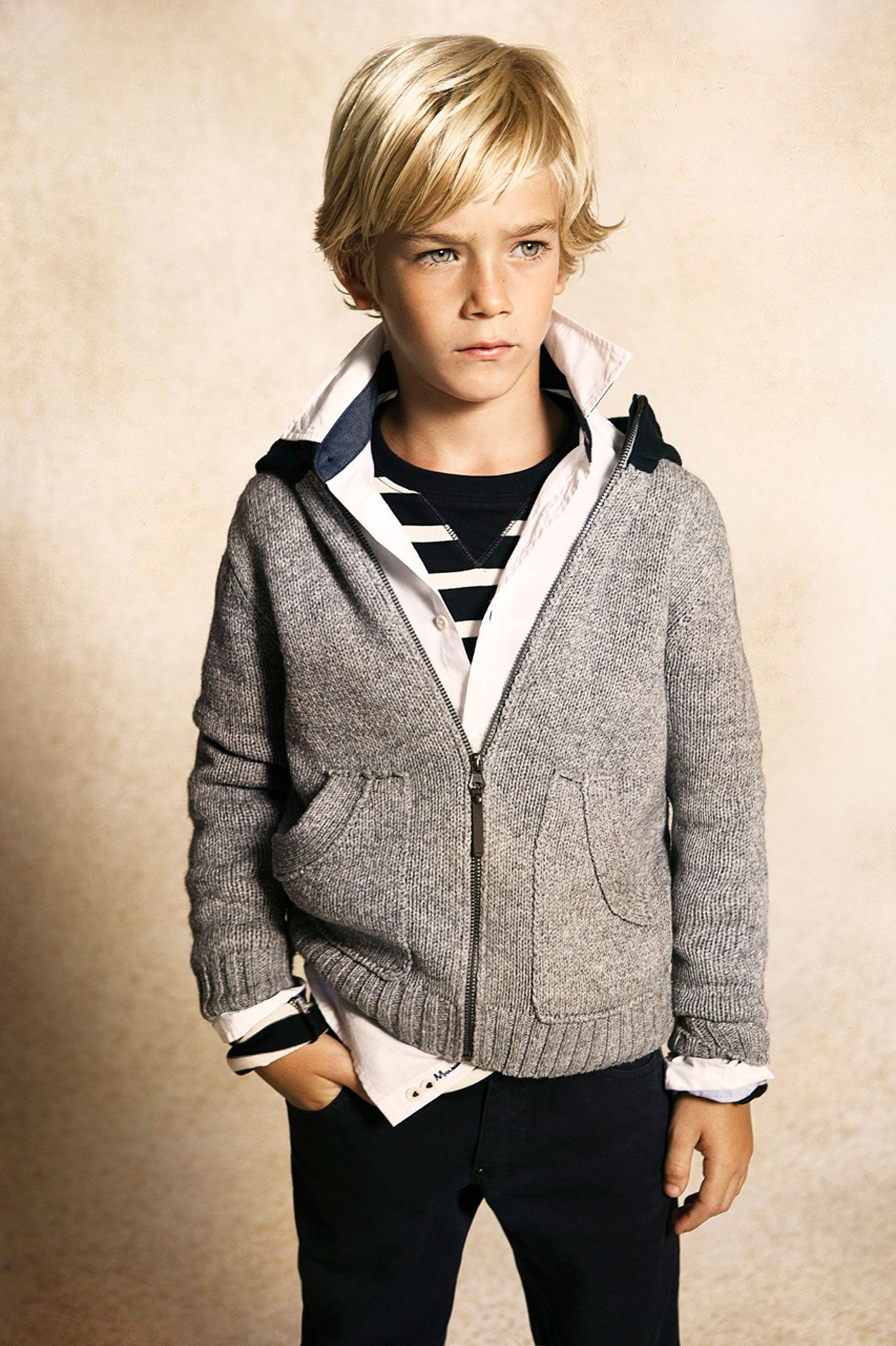 Boy long hairstyles love the outfit too  beautiful kids  pinterest  boy hair