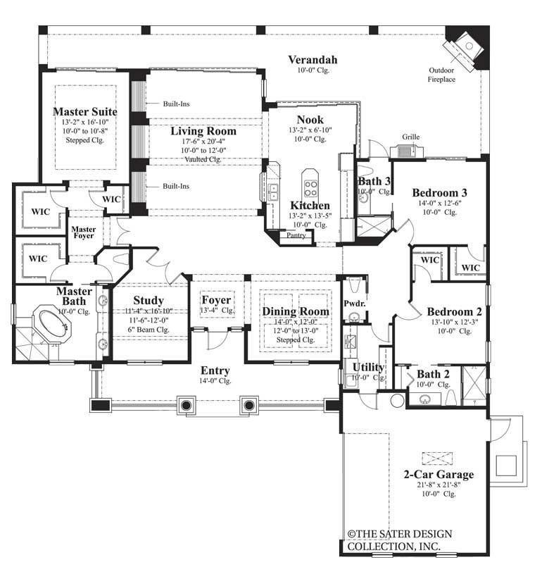 Hammock Grove House Plan Luxury House Plans House Plans Farmhouse House Plans