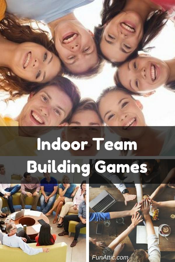 17 Indoor Team Building Games Fun Activities Pinterest Team