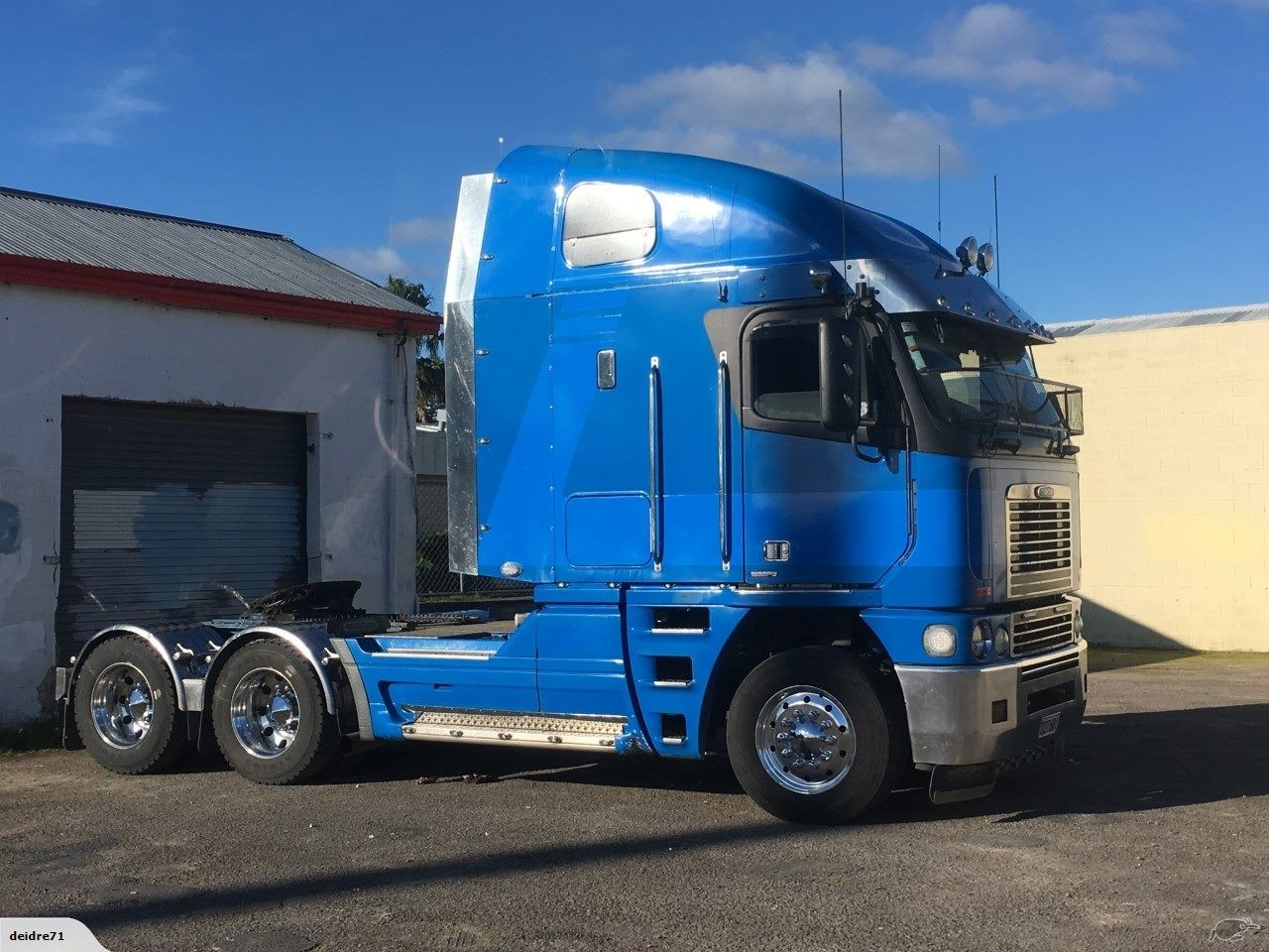 2006 Freightliner Argosy 6x4 T Unit Freightliner Big Rig Trucks Trucks And Girls