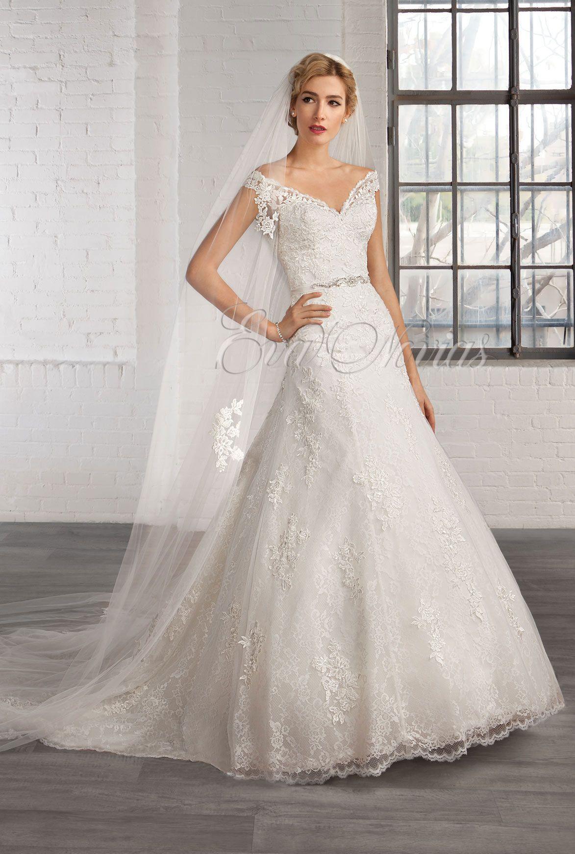 Vestido de Novia Cosmobella 2016 Modelo 7754 en Eva Novias Madrid ...
