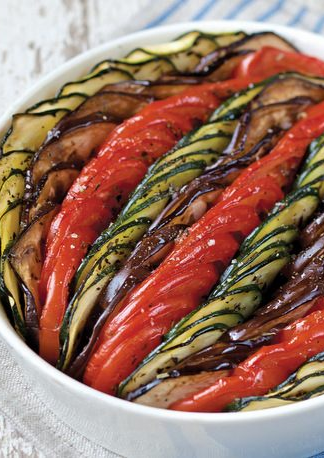 Ratatouille Tian From The French Market Cookbook