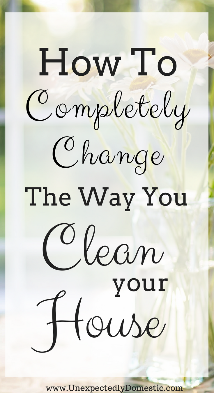 Easy cleaning tips to keep your house clean in under 30 minutes a day.